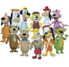 Fabulous Hanna Barbera cartoons from the '60s...Huckleberry Hound, Snagglepuss, Yogi Bear, Magilla Gorilla