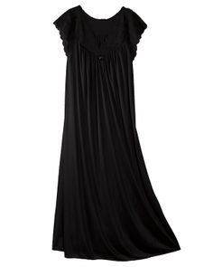5b64d679eaf Shadowline Long Gown with Soft Stretch Lace Bodice ( 27.95) http   www