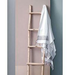 Houten ladder luxe