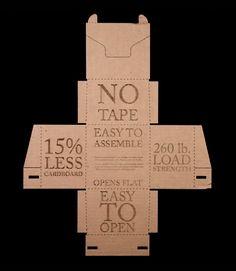 Rapid Packing Container: La caja de cartón del futuro | NiceFuckingGraphics!