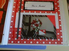 The 'reception' documented in the wedding album, 2012.