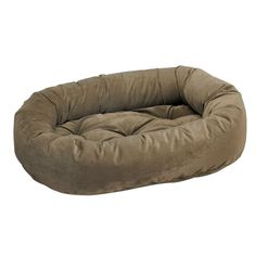 Donut Bed in Thyme Fabric (Medium: 35 x 27 x 8 in.) ** Click image to review more details.