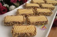 5 Minute Desserts, Easy Desserts, Stones Recipe, Cookie Recipes, Dessert Recipes, Turkish Recipes, Cookies Et Biscuits, Food And Drink, Yummy Food