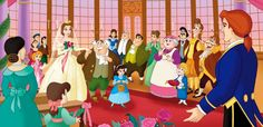 sorry but this is just too perfect..  Beauty and the Beast wedding