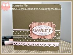 Stampin' Up! Cycle Celebration