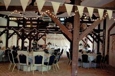 Our late summer wedding - barn reception