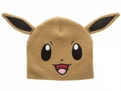 172c1e59a17 BRAND NEW Pokemon Eevee Big Face Fleece Cap Beanie with Ears -- Officially  Licensed by