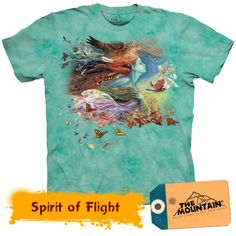 Oh woe! Love this shirt! Another DePanda Mountain tee Dye T Shirt, Printed Tees, Cool Tees, Tshirts Online, Tie Dye, Tee Shirts, Stylish, My Style, Mountain