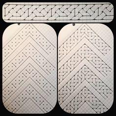 1 nigger, 4 different corner turns. Calligraphy Borders, Islamic Art Calligraphy, Celtic Patterns, Celtic Designs, Islamic Art Pattern, Pattern Art, Mandala Dragon, Celtic Cross Stitch, Art Noir