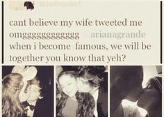 Jariana this is the cutest thing ever jai brooks and Ariana grande