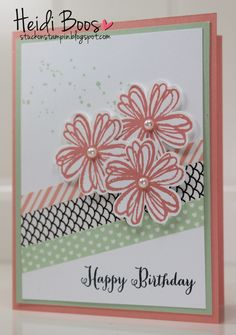Stuck on Stampin': Quick & Easy with Washi Tape!