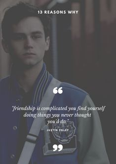 Netflix's 13 Reasons Why has gained a lot of praise from the audience.These 7 quotes from the series will change your perception towards life. 13 Reasons Why Poster, Justin 13 Reasons Why, 13 Reasons Why Reasons, 13 Reasons Why Netflix, Thirteen Reasons Why, Netflix Quotes, Movie Quotes, Clay Jensen Quotes, 13 Reasons Why Aesthetic