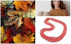 Meravigliosa collana in corallo linea barilotti per colorare le giornate d'autunno. #Gioiellicorallo #Orodisciacca