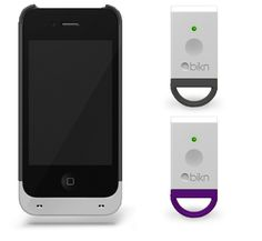White & Gray Smart Case for iPhone 4/4s + White Tag/Gray + White Tag/Purple