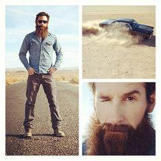 Aaron Kaufman <3 this guy Olivia is obsessed with this fine man but he needs to shave his beard!!