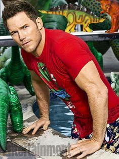Yes please! Chris Pratt Makes a Splash: EW Summer Must List Photo Portraits | | EW.com