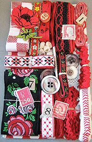 Crazy Quilt Embellishment Kit - saw these this weekend at the Midwest Stitches show - so cute!