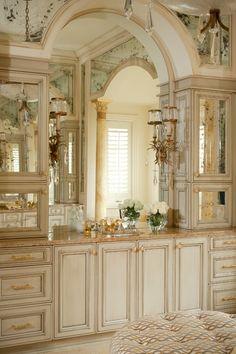 Mediterranean Home traditional bathroom