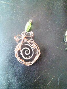 Glass and copper