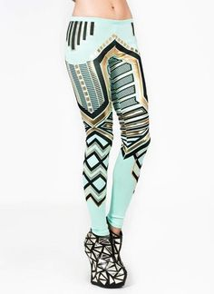 Jeweled Leggings these remind me of blades of glory haha