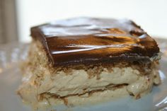 SusieQTpies Cafe: Gingerbread Chocolate Eclair Dessert Recipe