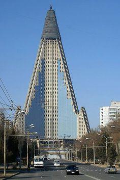 Hoteles Pyongyang, Corea del Norte,