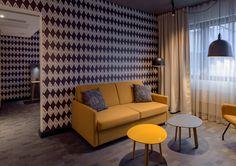 Original Sokos Hotel Presidentti, Helsinki. Sisu-huone, suunnittelija Paola Suhonen. Valmistunut 2016.