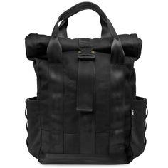 Defy Bags - VerBockel Rolltop Backpack, $250.00 (http://www.defybags.com/verbockel-rolltop-backpack/)