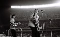 March 22 marks 50 years since the release of the band's first album Please Please Me - at Shea Stadium