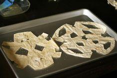 Tortilla snowflake recipe for kids