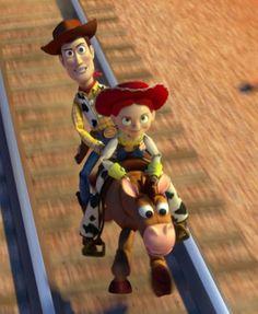 Woody And Jessie, Jessie Toy Story, Desenho Toy Story, Sheriff Woody, Disney Pixar Movies, Pride, Fandom, Cartoon, Cool Stuff