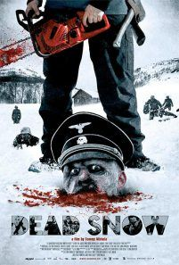 Dead Snow movie review. Fantastic horror/comedy. Weapons, snow, gushing blood, Nazi zombies and youths. How could this weekend vacation go wrong?