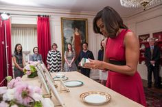 Michelle Obama gives us a peek at her $600,000 White House State Dining Room renovations