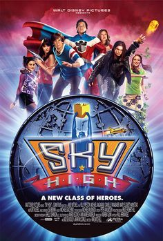 """Sky High is a great family movie for families with bright kids because it does a great job addressing a common issue with gifted kids: impostor syndrome. In this movie, the protagonist is worried he will be """"found out"""" as the unworthy son of superhero parents. Many, many of the stereotypes about gifted kids are shown here, and the scene where the students have to display their powers is a thesis on gt kids and their varied manifestations!"""