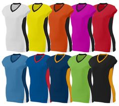 Augusta HIT Cap Sleeve Jersey - 92% polyester/8% spandex wicking pinhole mesh.  Available in youth sizes.  Call 952-808-0100 for more details. Printing available.