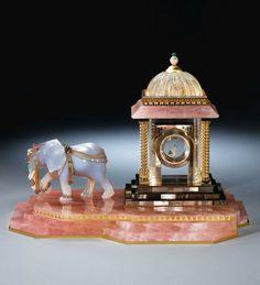 "Cartier, ""The Grand Mogul Pavilion Mystery Clock"" - Sotheby's"