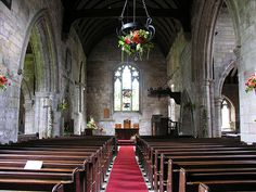 Scottish Church Inside.. just serene, lovely and you can almost see the peace! Divine....