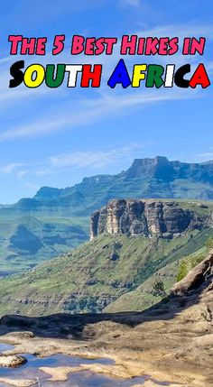 The 5 Best Hikes in South Africa. We have compiled a list of the top hikes in South Africa that are the most scenic and diverse. Slow Travel, Travel Usa, Travel Tips, Travel Destinations Beach, Best Hikes, Best Places To Travel, Africa Travel, Adventure Travel, South Africa