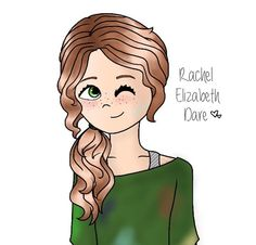 Rachel Elizabeth Dare from Percy Jackson  WHY ISNT HER HAIR RED AND SUPER CURLY?!?!