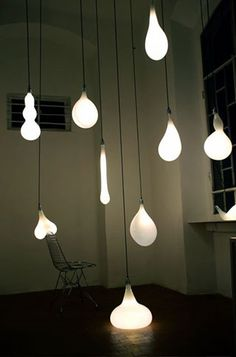 flowing bulbs by Pieke Bergmans