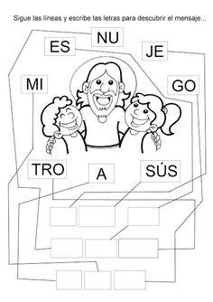 78 Mejores Imágenes De Jesus Para Colorear Activities Jesus