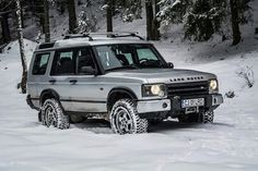 Land Rover Discovery 2 @ snow park