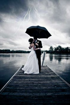This is perfect! I've always said I want rain on my wedding day!