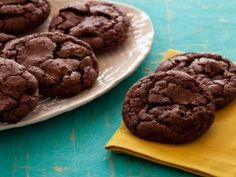 Spicy Mexican hot chocolate cookies via Cooking Channel