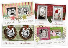 Free Christmas Card and Gift Tag Printables!