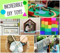 """30+ AMAZING toys and """"big ticket"""" Christmas gifts you can MAKE for your little one! #creativemamas"""