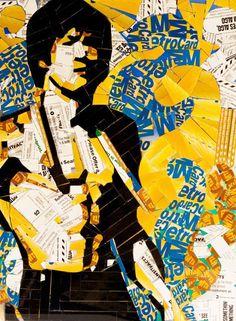 Metrocard Art  Bruce Lee by Juan Carlos Pinto