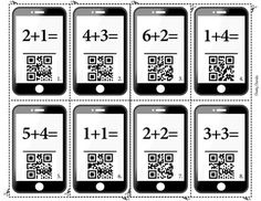 QR codes are a fun way to get the students engaged in a new lesson.In this material, your students will be solving addition problems and checking their work by scanning QR codes.All you need for this lesson is a device that has a QR Code Scanner installed.