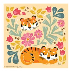 Marvelous Drawing Animals In The Zoo Ideas. Inconceivable Drawing Animals In The Zoo Ideas. Animal Drawings, Cute Drawings, Lion Tigre, Sleeping Tiger, Tiger Illustration, Cute Tigers, 257, Pet Birds, Decoupage