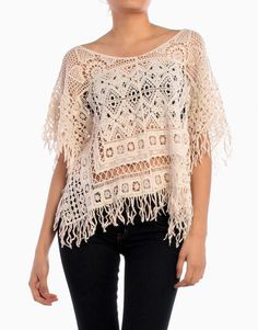 Loose Knit Poncho ON SALE $14.99